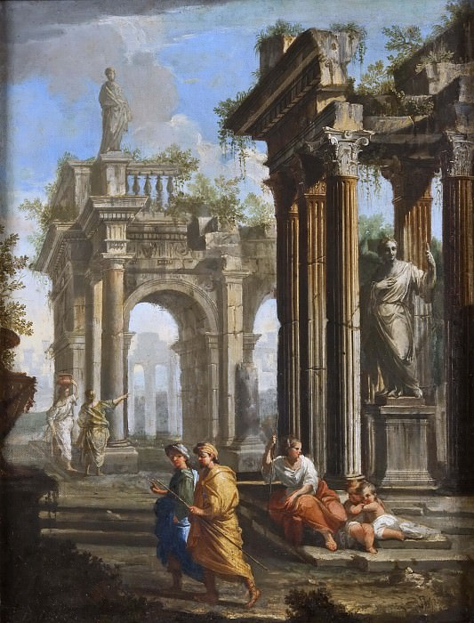 Classical Buildings with Columns. Alberto Carlieri