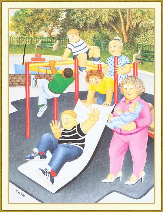 CookBeryl b46 Childrens Playground-WeaSDC. Берил Кук