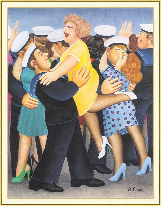 CookBeryl b06 Sailors and Sweethearts-WeaSDC. Beryl Cook