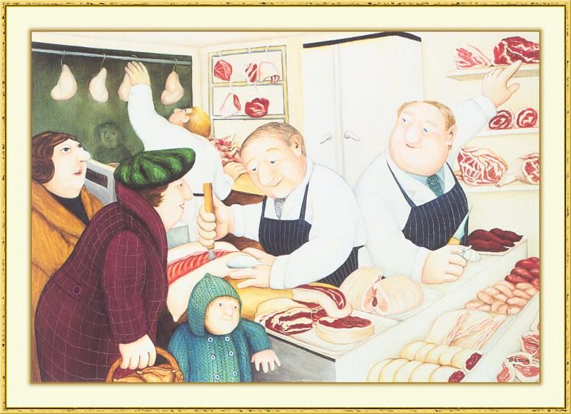CookBeryl b20 Butchers-WeaSDC. Beryl Cook