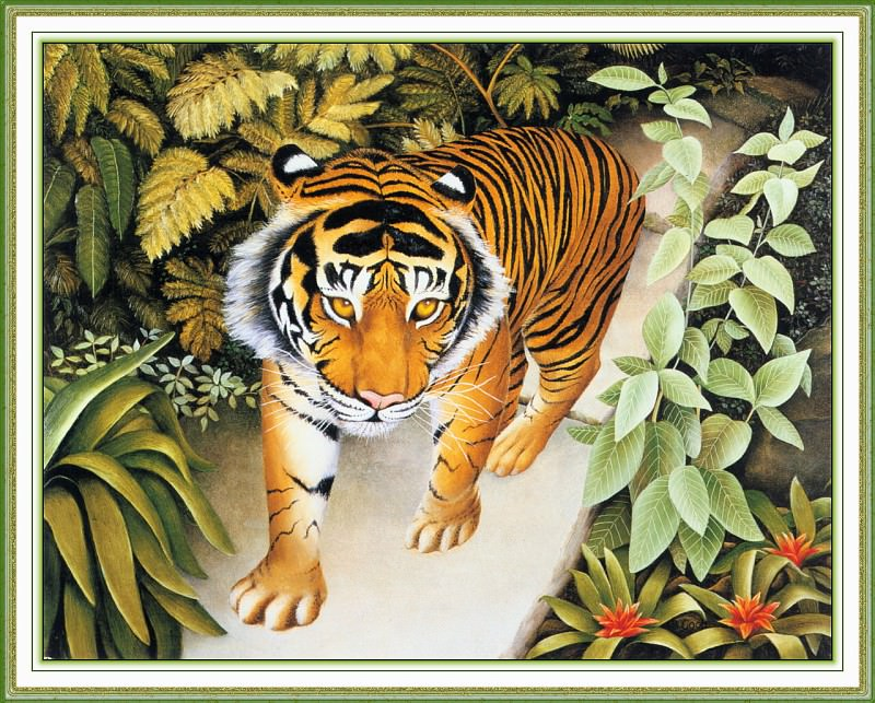 CookBeryl i05 The Tiger-WeaSDC. Beryl Cook