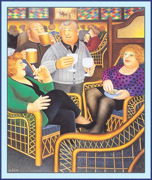 CookBeryl a35 Cane Chairs-WeaSDC. Beryl Cook