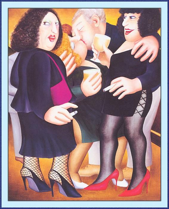 CookBeryl a20 Kissing Time-WeaSDC. Beryl Cook