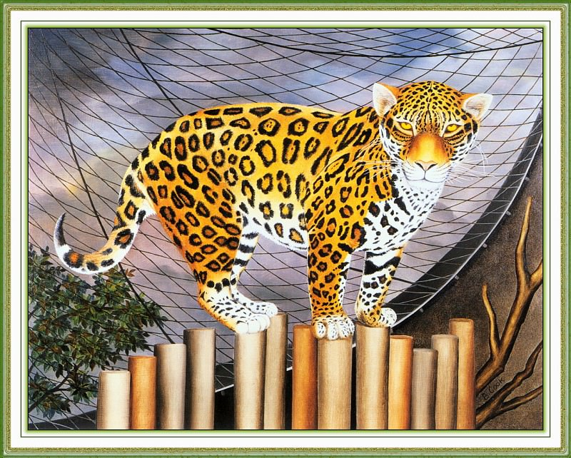 CookBeryl i04 The Jaguar-WeaSDC. Beryl Cook