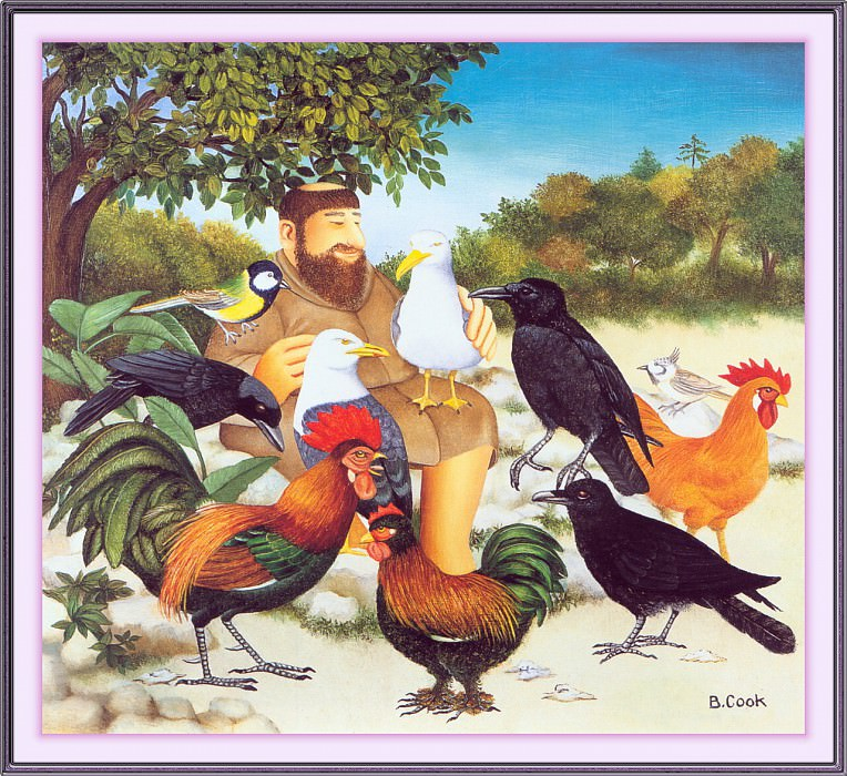 CookBeryl j19 St Francis and the Birds-WeaSDC. Берил Кук
