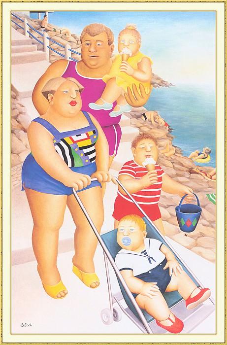 CookBeryl b07 Going Swimming-WeaSDC. Beryl Cook