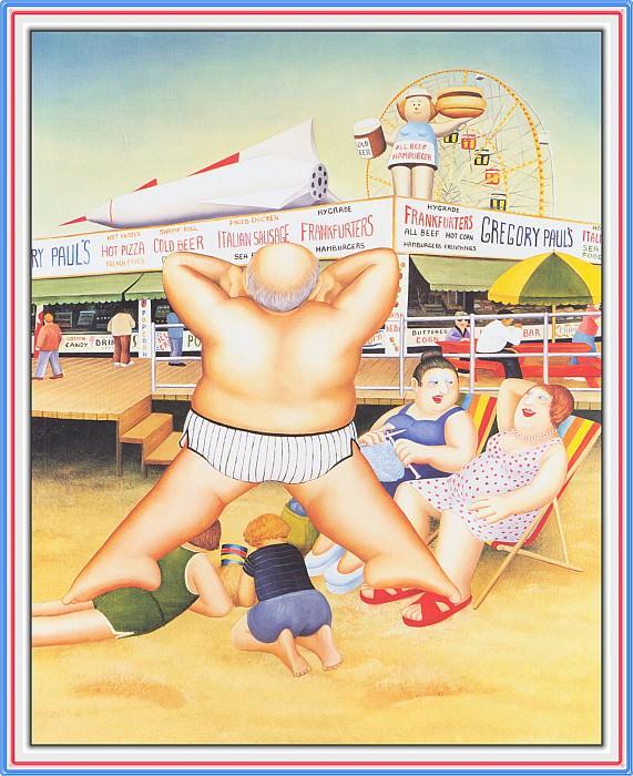 CookBeryl e20 Coney Island-WeaSDC. Beryl Cook