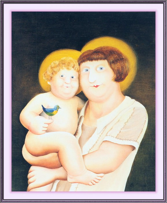 CookBeryl j17 Virgin and Child-WeaSDC. Берил Кук