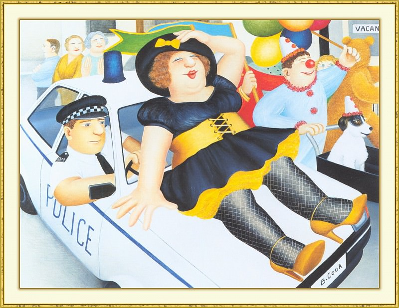 CookBeryl b38 Carnival in Plymouth-WeaSDC. Beryl Cook