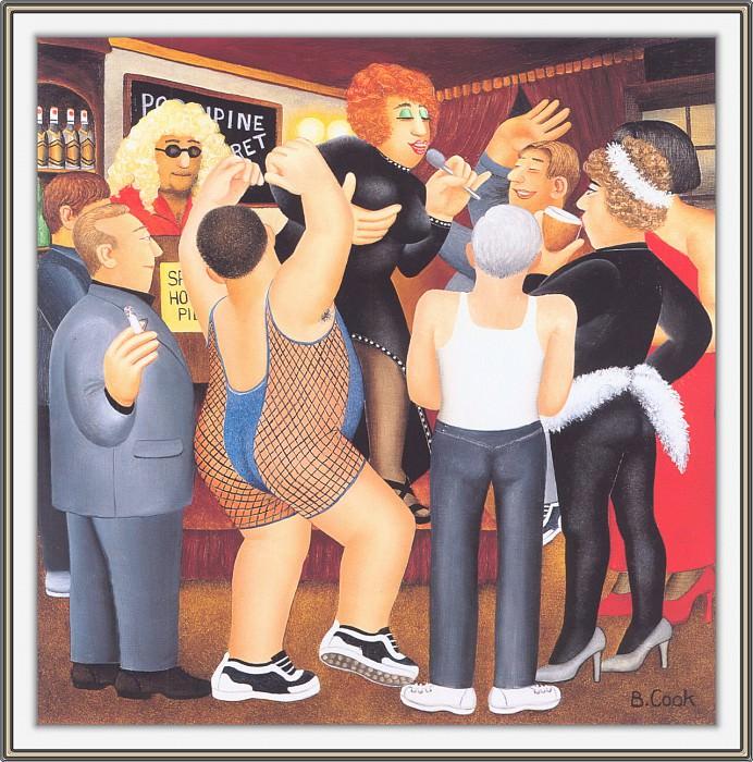 CookBeryl d16 Party Boys-WeaSDC. Beryl Cook