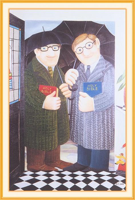 CookBeryl g03 Divine Visitation-WeaSDC. Beryl Cook