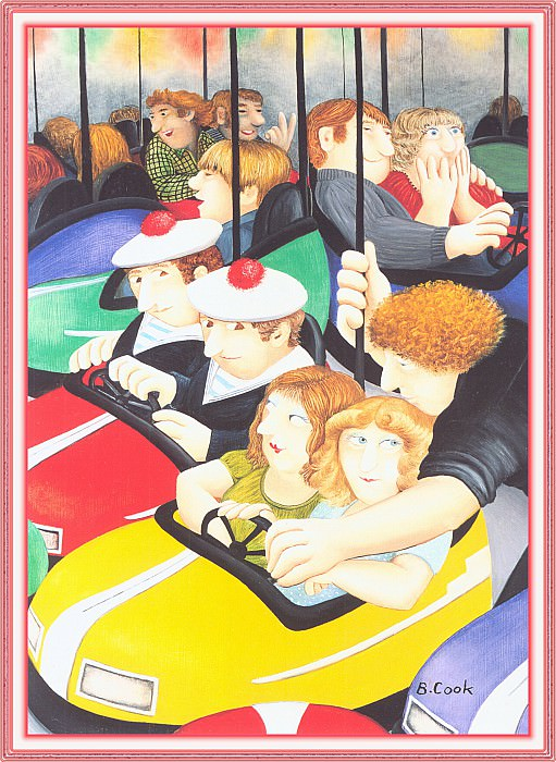 CookBeryl 001 Bumper Cars-WeaSDC. Beryl Cook