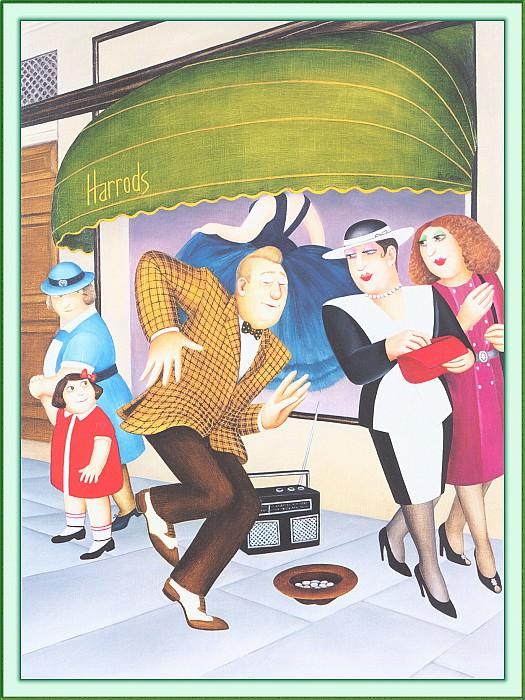 CookBeryl c27 Harrods-WeaSDC. Beryl Cook
