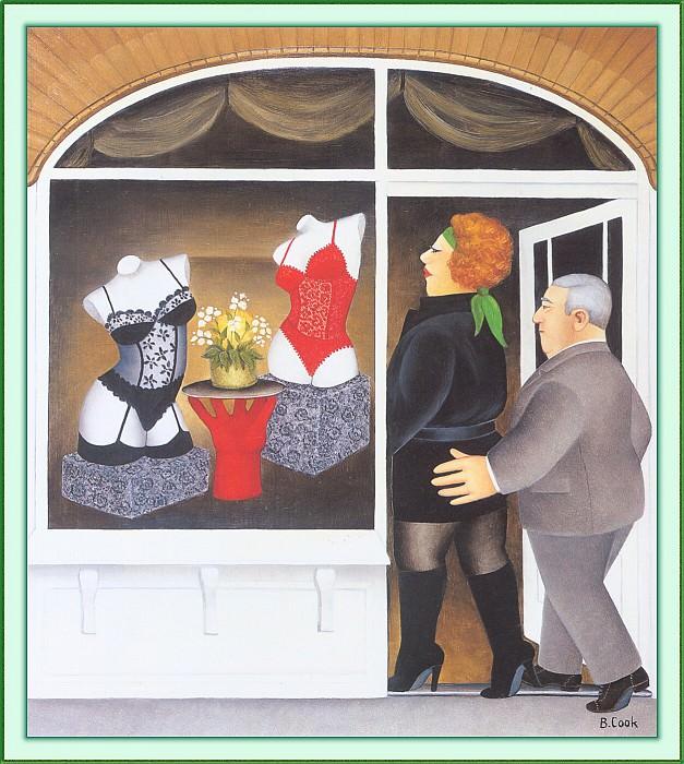 CookBeryl c23 Lingerie Shop-WeaSDC. Beryl Cook