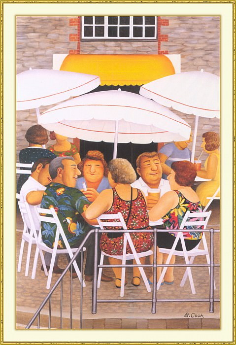 CookBeryl b36 Summer Afternoon-WeaSDC. Берил Кук