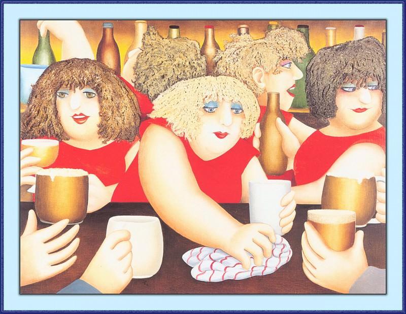 CookBeryl a13 Mop Heads-WeaSDC. Beryl Cook