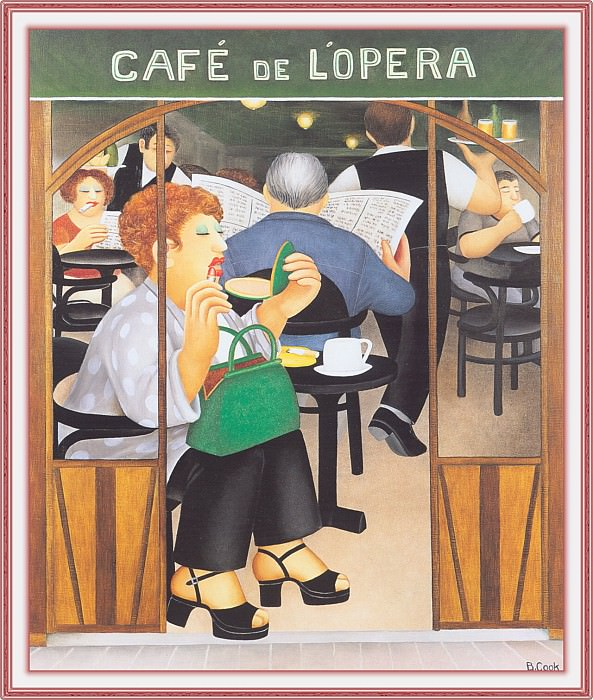 CookBeryl f09 Cafe de lOpera-WeaSDC. Beryl Cook