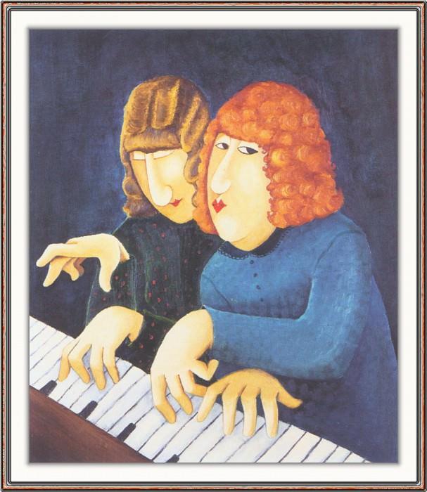 CookBeryl h18 Pianistes-WeaSDC. Beryl Cook