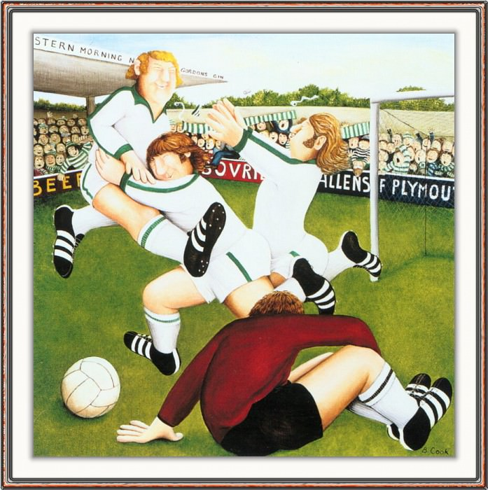 CookBeryl h08 Footballers-WeaSDC. Beryl Cook