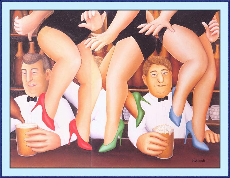 CookBeryl a12 Dancing on the Bar-WeaSDC. Берил Кук