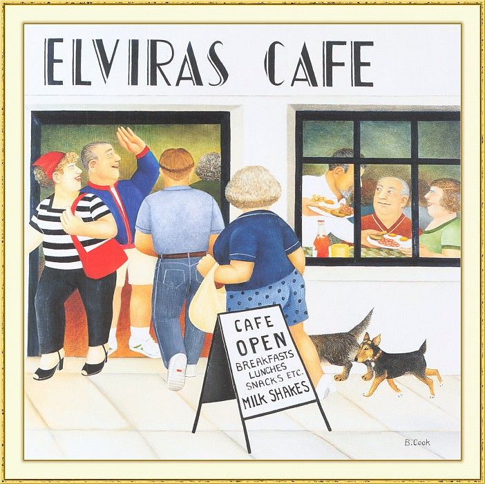 CookBeryl b19 Elviras Cafe 2-WeaSDC. Beryl Cook