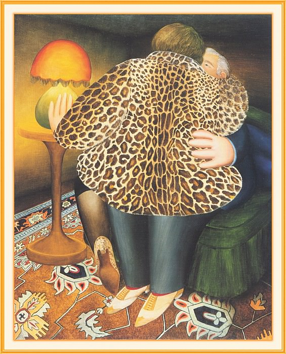 CookBeryl g06 The Leopardskin Coat-WeaSDC. Beryl Cook