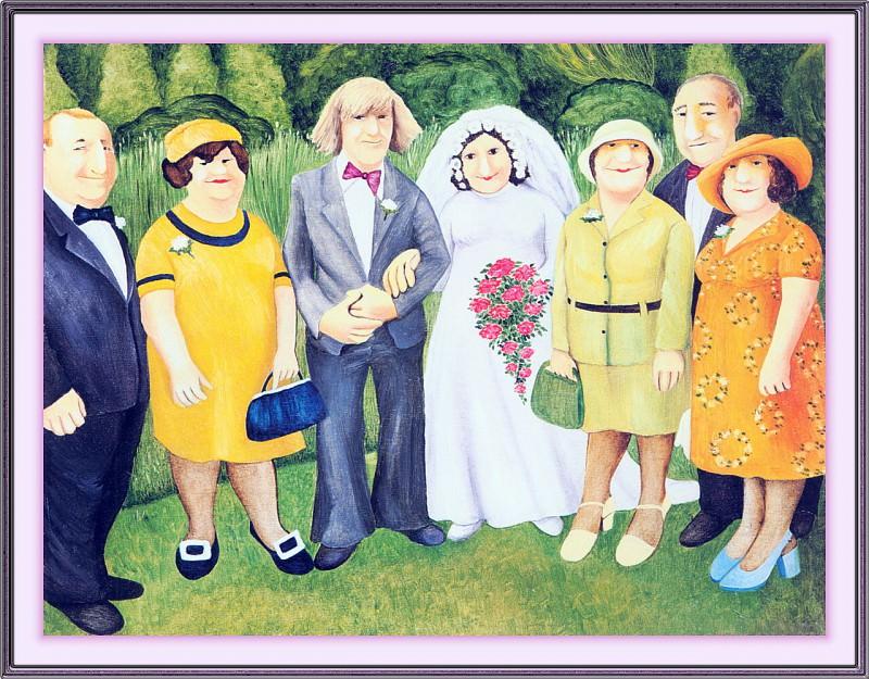 CookBeryl j11 Wedding Photograph-WeaSDC. Beryl Cook
