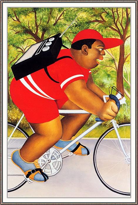 CookBeryl h11 Bicyclist-WeaSDC. Beryl Cook