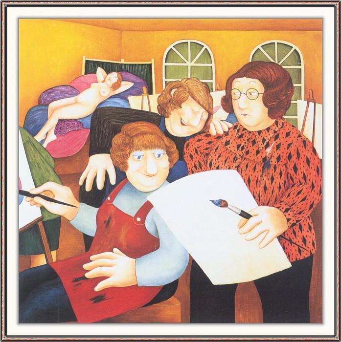CookBeryl h16 The Art Class-WeaSDC. Beryl Cook