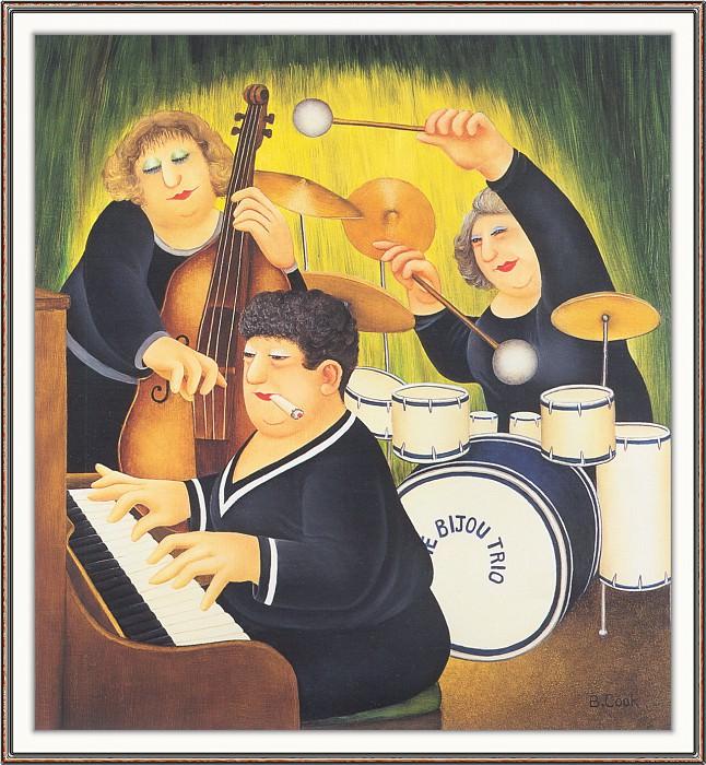 CookBeryl h21 The Bijou Trio-WeaSDC. Берил Кук