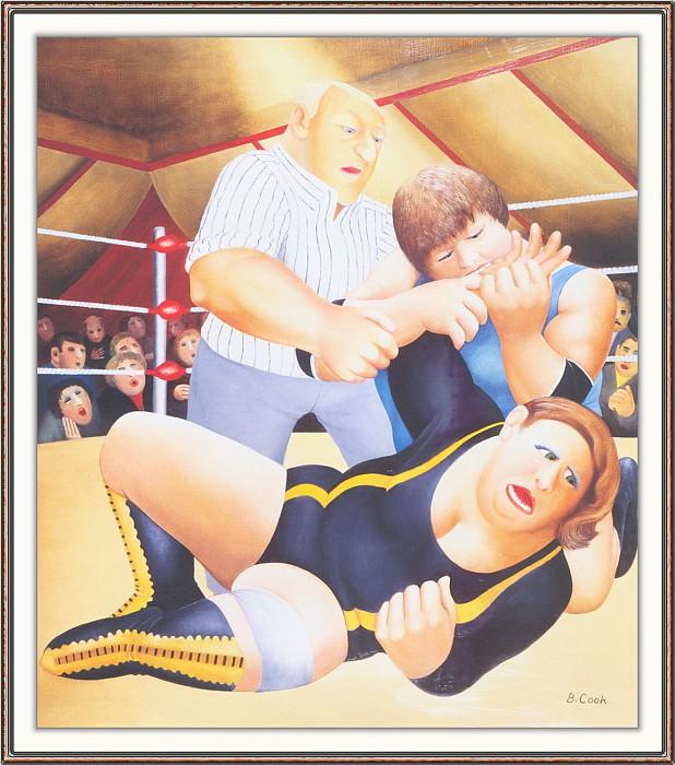 CookBeryl h25 Lady Wrestlers-WeaSDC. Берил Кук