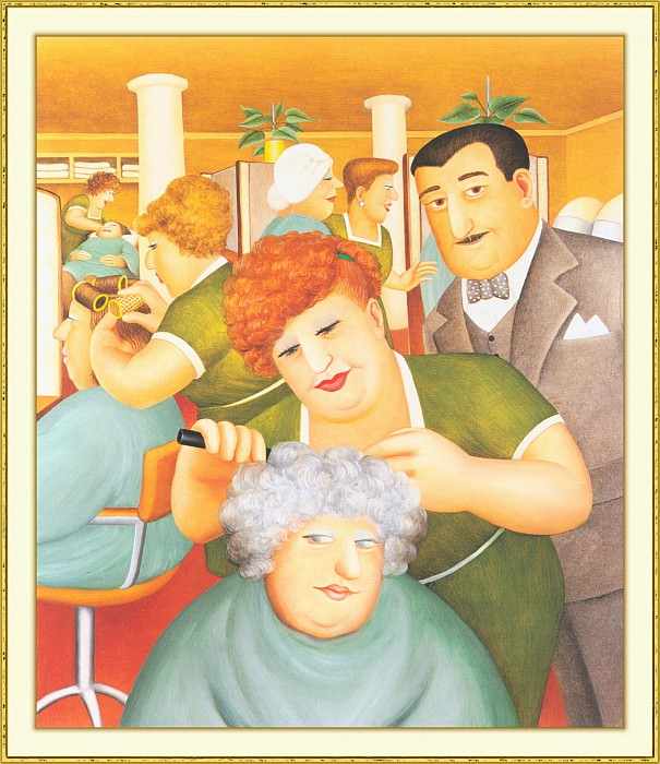 CookBeryl b30 Hairdressing Salon-WeaSDC. Берил Кук
