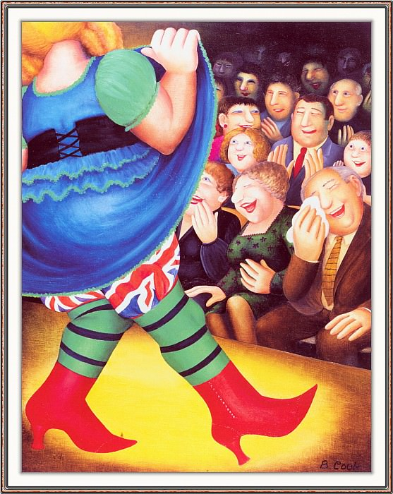 CookBeryl h30 Pantomime Dance-WeaSDC. Beryl Cook
