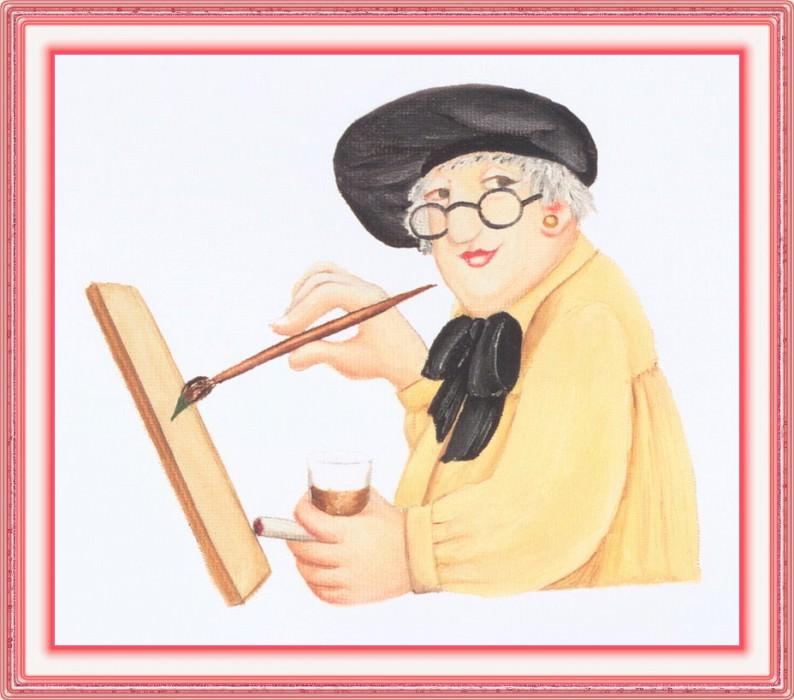 CookBeryl 005 Beryl Painting-WeaSDC. Beryl Cook