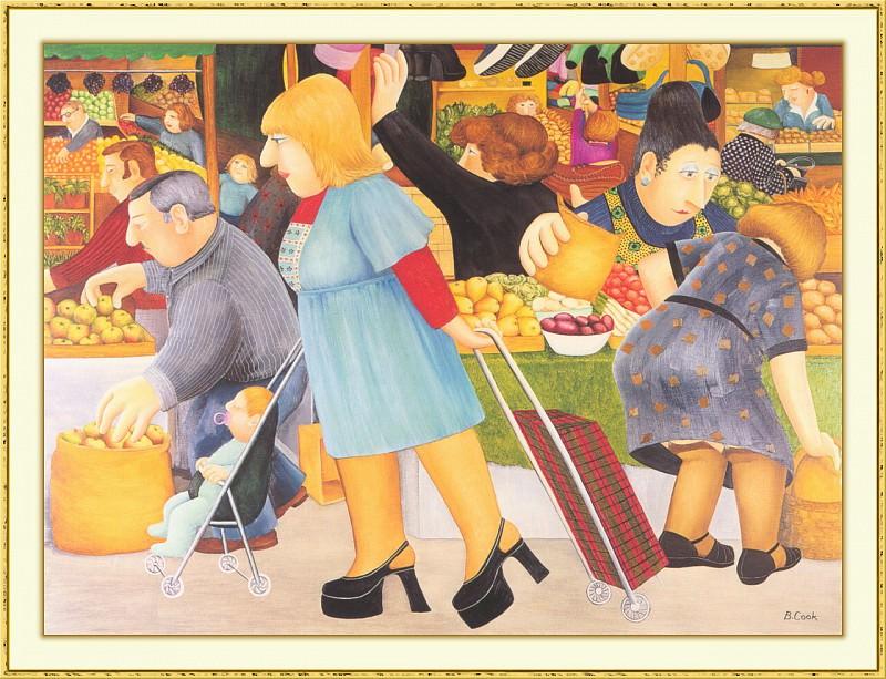 CookBeryl b21 The Market-WeaSDC. Beryl Cook