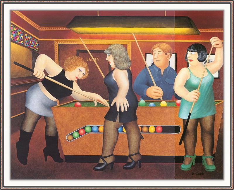 CookBeryl h26 Pool Table-WeaSDC. Берил Кук