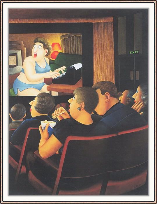 CookBeryl h24 At the Cinema-WeaSDC. Beryl Cook