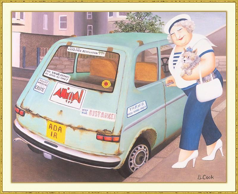 CookBeryl b40 Rusty Car-WeaSDC. Beryl Cook