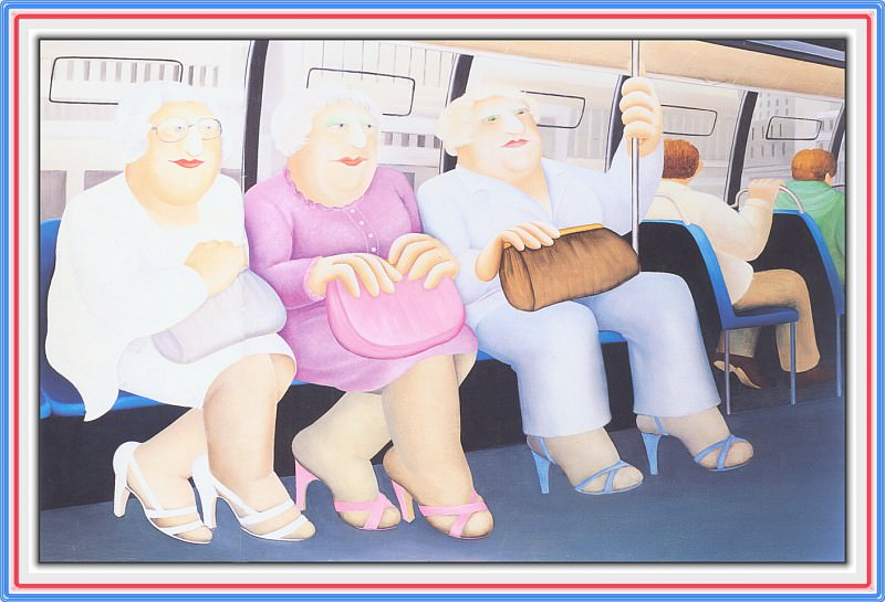 CookBeryl e15 Bus Ride-WeaSDC. Beryl Cook