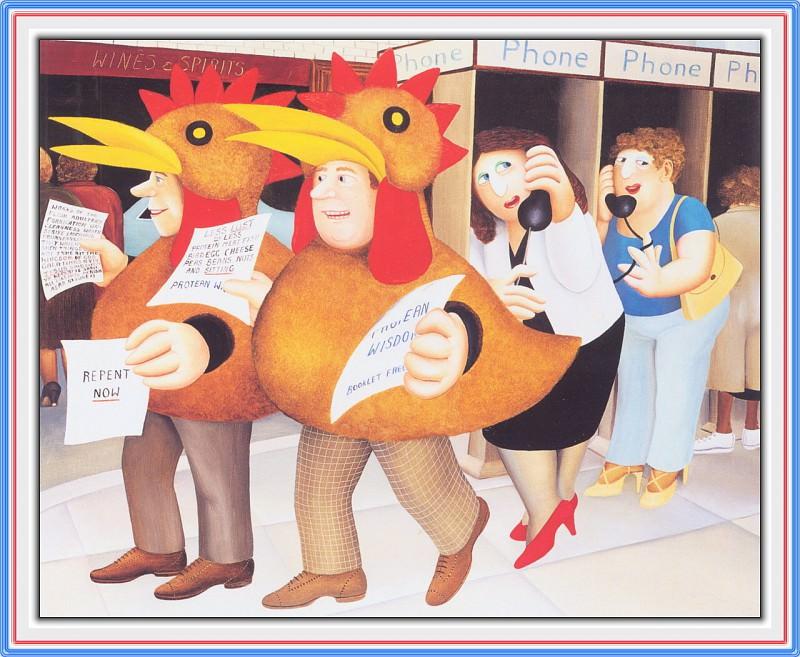 CookBeryl e06 Chicken Suits-WeaSDC. Beryl Cook