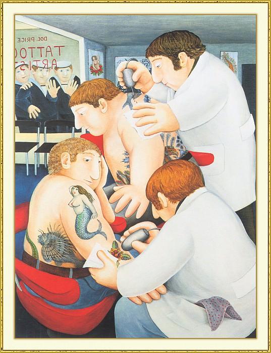 CookBeryl b29 Tattoo Artists-WeaSDC. Beryl Cook
