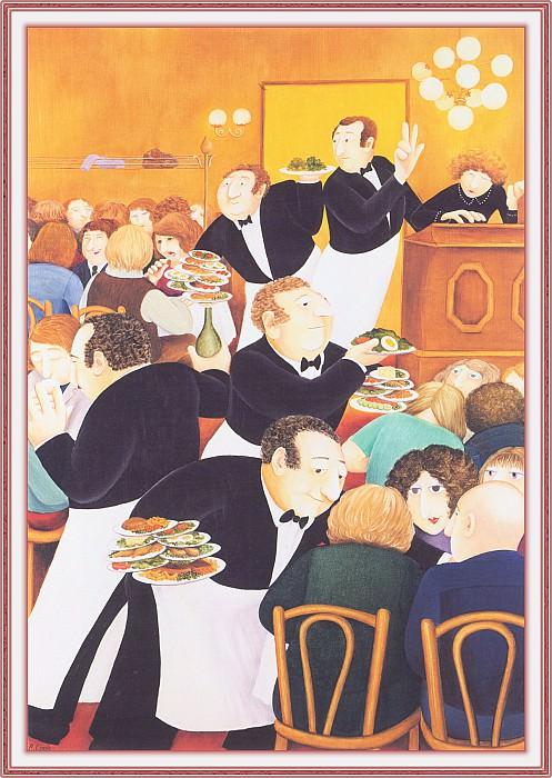 CookBeryl f03 Restaurant Chartier-WeaSDC. Beryl Cook