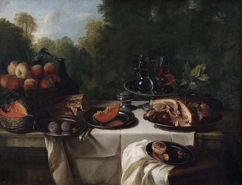Breakfast Piece with Ham. Alexandre Francois Desportes
