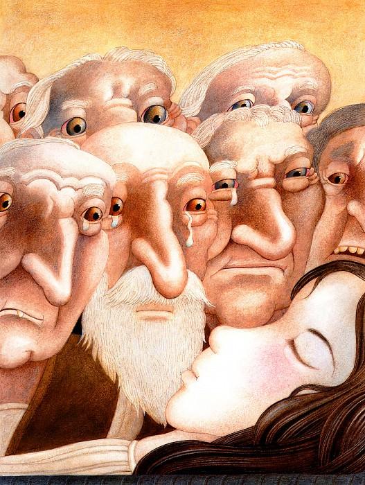 The Seven Dwarfs. Etienne Delessert