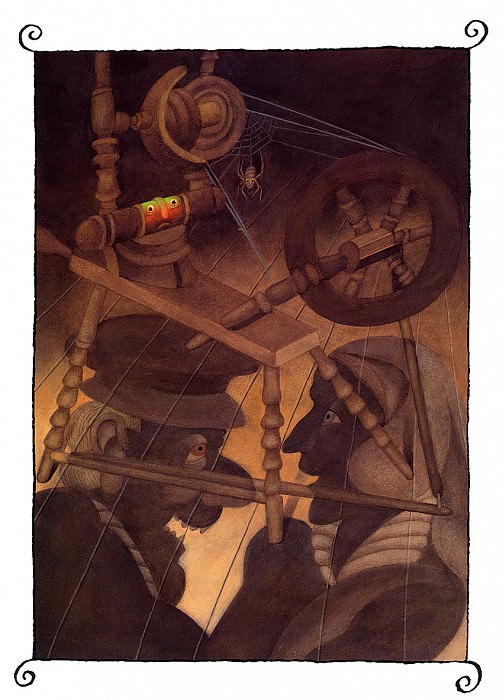 The Spinning Wheel. Etienne Delessert