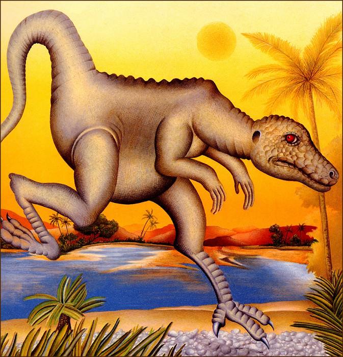 La Rivieredes Dinosaures. Etienne Delessert