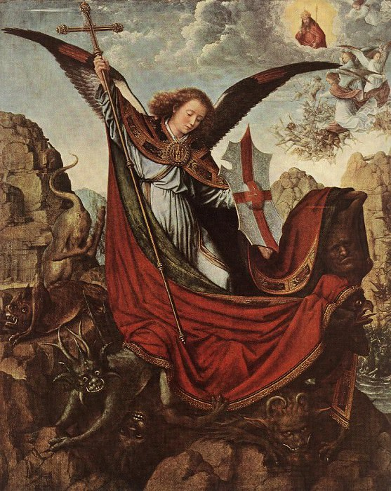 Altarpiece of St Michael. Gerard David