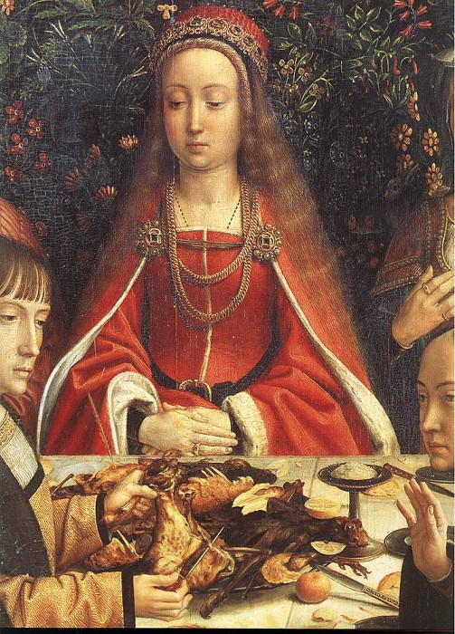 the marriage at cana. Gerard David