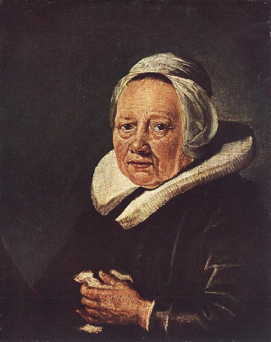 Portrait of an Old Woman. Gerrit Dou