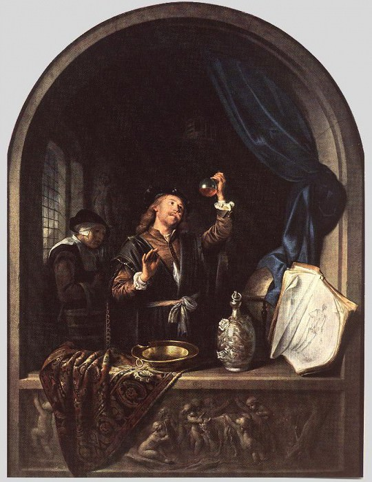 The Physician. Gerrit Dou